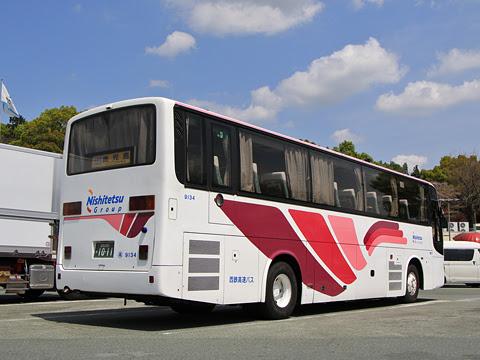 西鉄高速バス「桜島号」 9134 北熊本SAにて その2