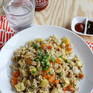 Easy Pineapple Fried Rice November 24, 2013