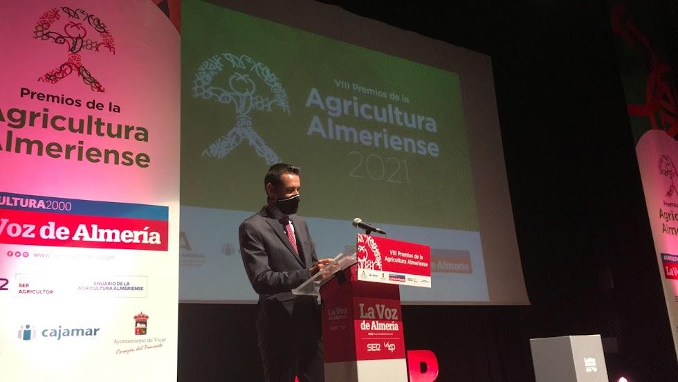 Fran García, delegado de La Voz de Almería y Cadena SER en la comarca del Poniente.