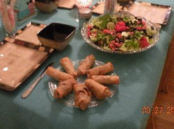 Ginger Chicken Egg Rolls Recipe