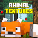 Animal Texture Pack for Pe icon