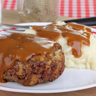 Hamburger Steaks and Gravy Recipe