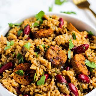 Classic Cajun Vegan Jambalaya Recipe
