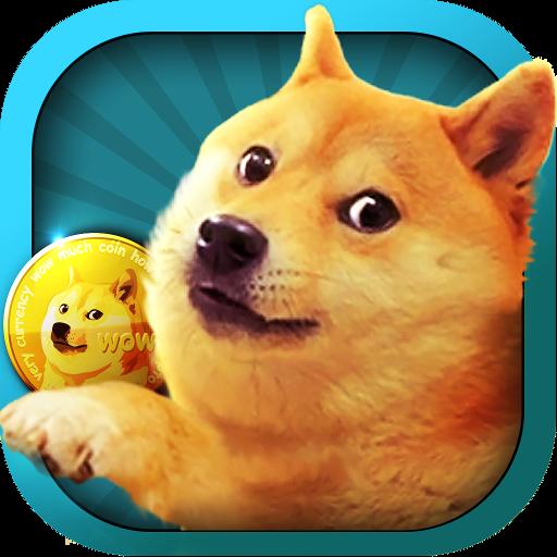 休闲の非常にドゥカーレゲームVeryDoge LOGO-記事Game