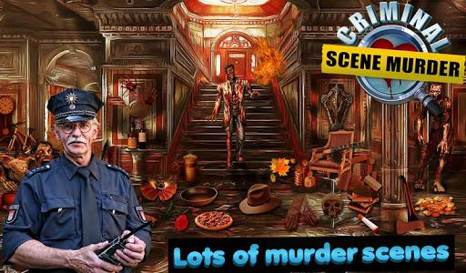 刑事シーン殺人