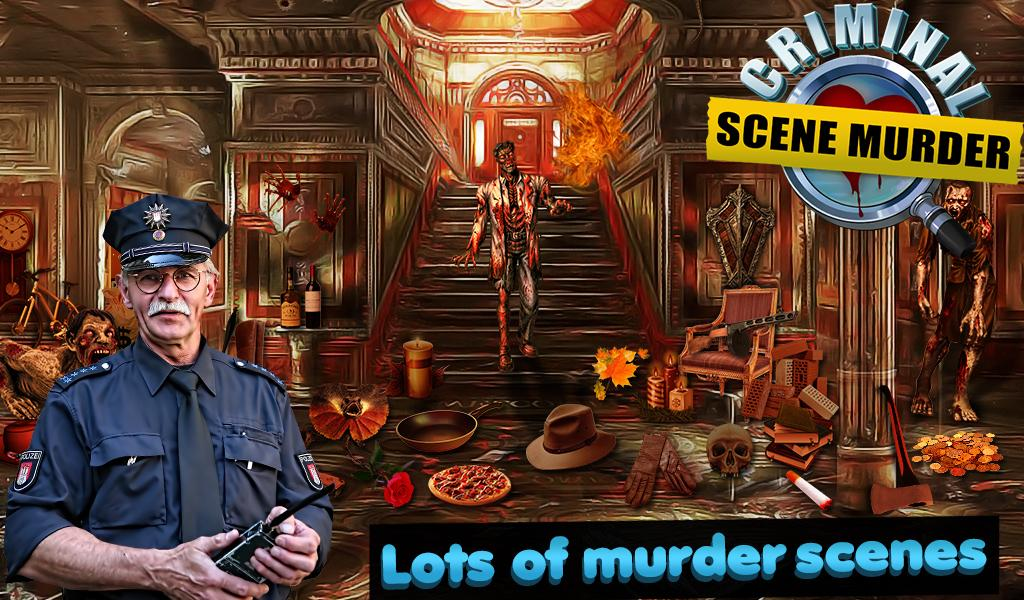 Criminal Scene Murder- screenshot