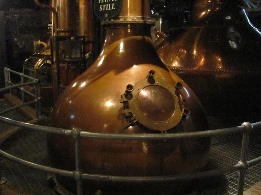 Model Stills at Old Jameson Distillery Dublin