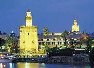 Torre del Oro <br>10 minutos a pi&eacute;