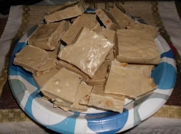 White Chocolate Peanut Butter Fudge
