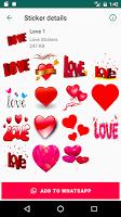 Love Stickers for WhatsApp - WAStickerApps ❤️❤️❤️