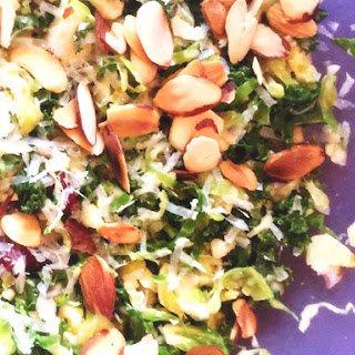 Brussels Sprout & Kale Slaw