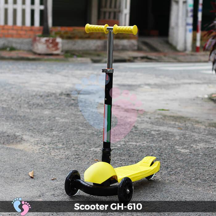 Xe trượt Scooter GH-610 gấp gọn 2