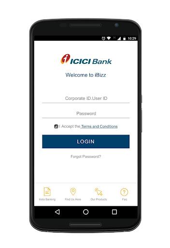 iBizz ICICI Corporate Banking screenshot 1