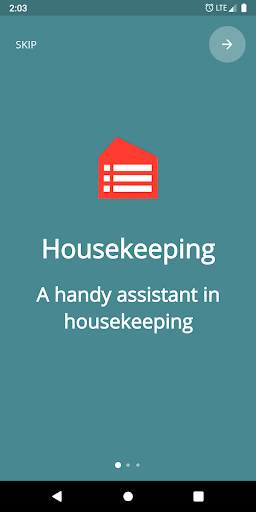 housekeeping. planner & reminder household chores screenshot 1