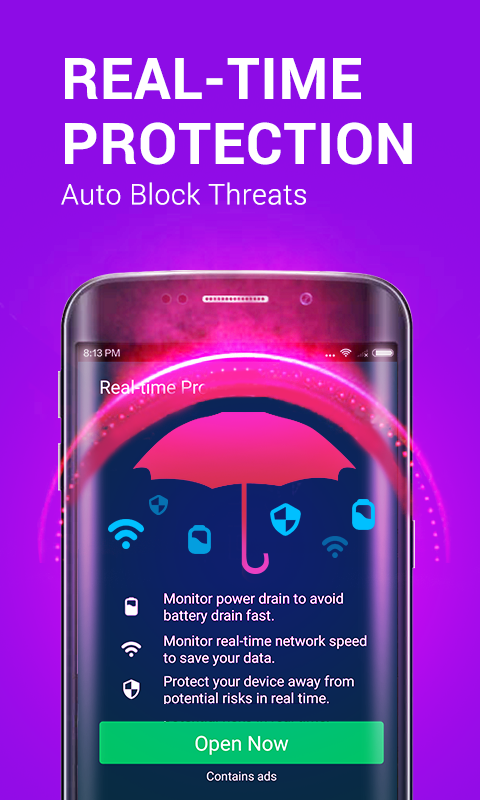 Power Security-Anti Virus, Phone Cleaner Screenshot 1
