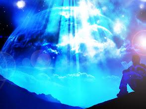 Photo: meditación y serena expectación