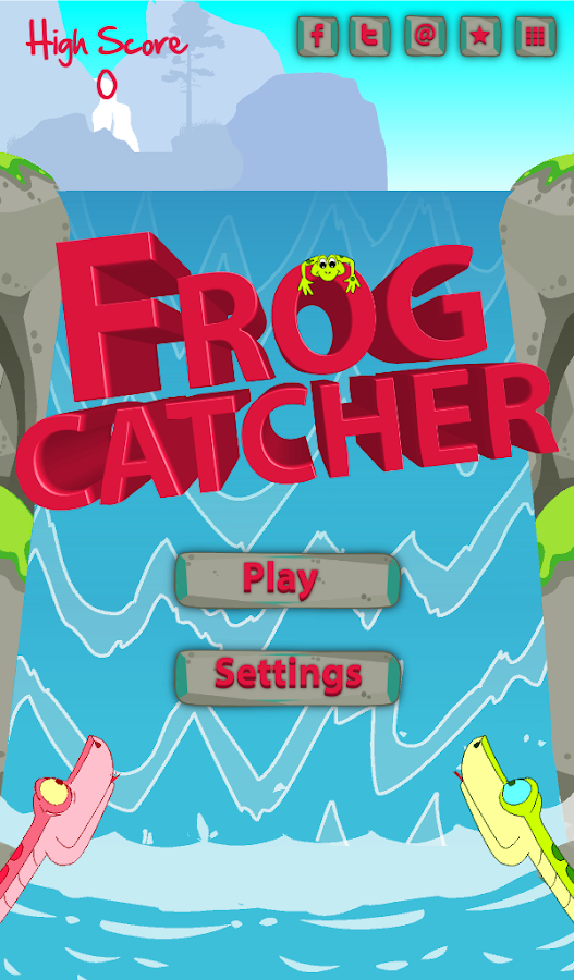 Frog Catcher- screenshot