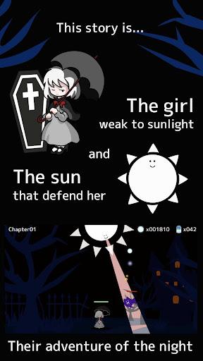 Girl x Sun - Terasene - Tower defence & Novel game apktram screenshots 2
