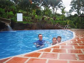 Photo: Enjoying the pool at Los Lagos