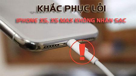 Phải làm gì khi iPhone XS lỗi sạc