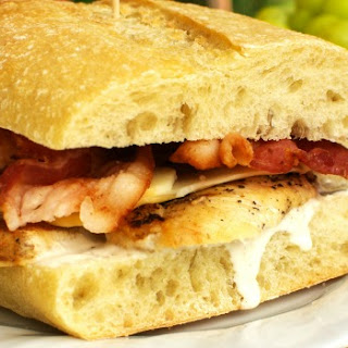 Chicken Bacon Ranch Sandwiches