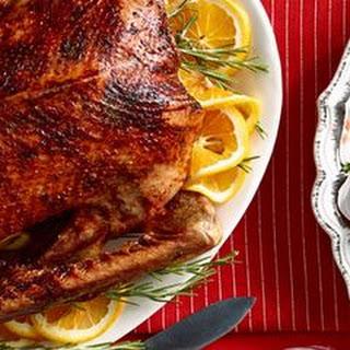 Orange-Rosemary Roast Goose