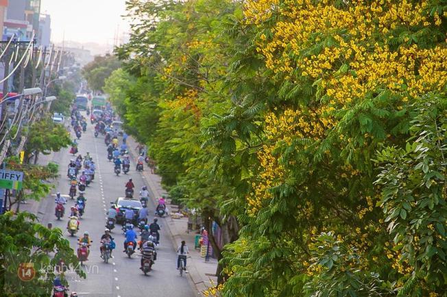 Trong khi Sài Gòn nắng nóng quanh năm