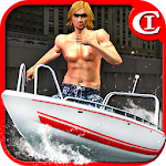 Crazy Boat Parking King 3D Icon