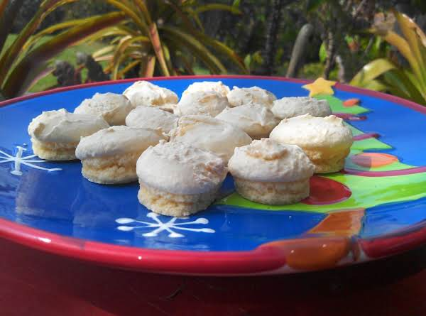 Anise Drop Cookies Distinctive Mushroom Top With A Soft Chewy Bottom And An High Crisp DomeFrosting