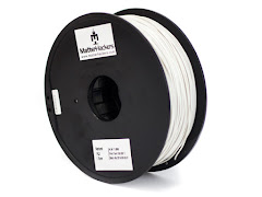 Natural Flexible PLA Filament - 1.75mm (1kg)