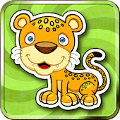 Kids Memory Match Animals Game