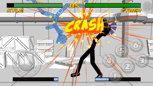 stickman fighting 3d screenshot 2