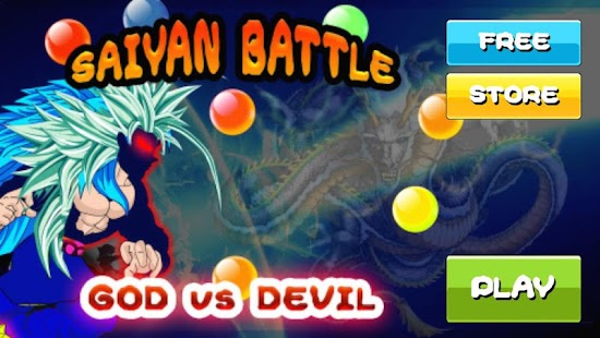 Batalha Saiyajin do Goku para Android