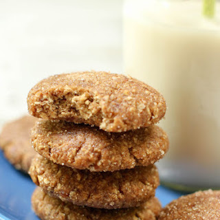 Vegan Snickerdoodles (oil-free + gluten-free).