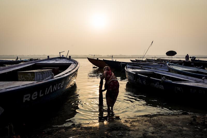 Prime luci sul Gange di Gloria Staffa