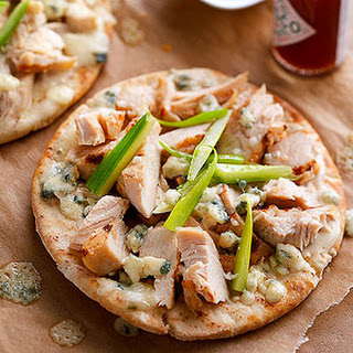 Buffalo Chicken Pizzas