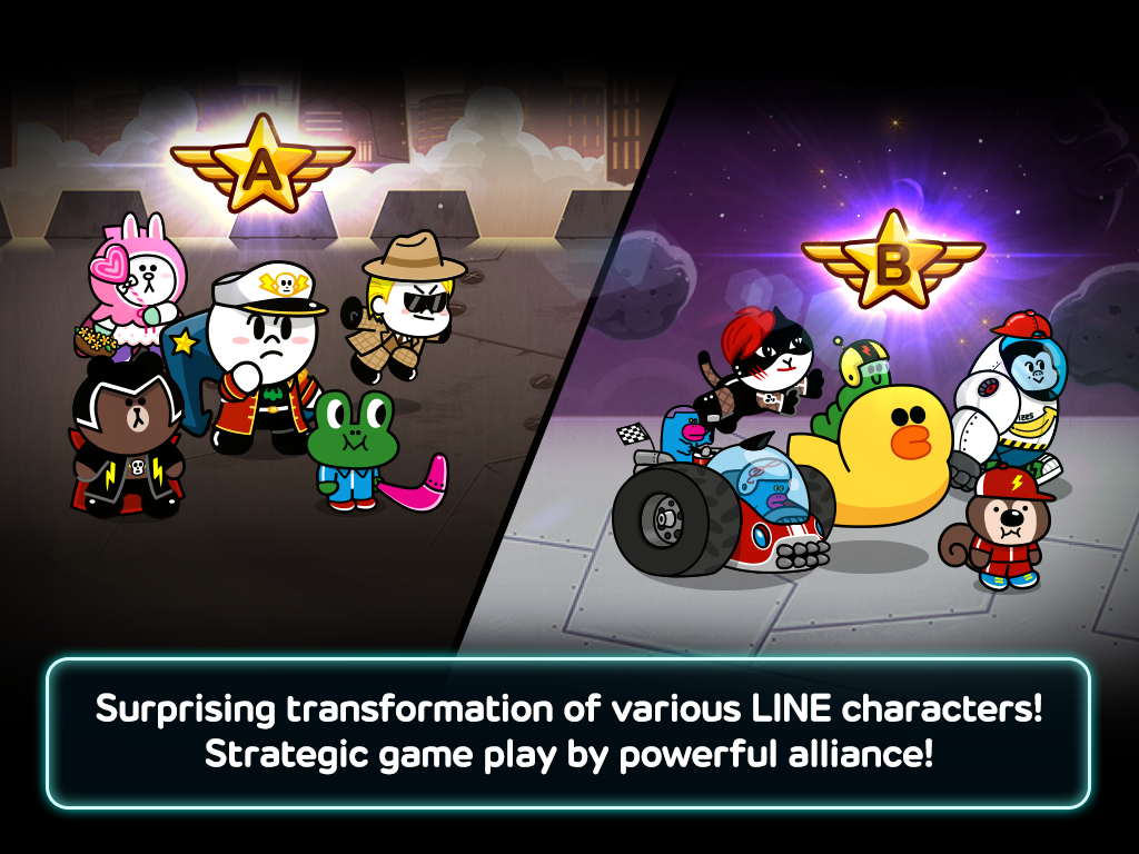 LINE Rangers- screenshot