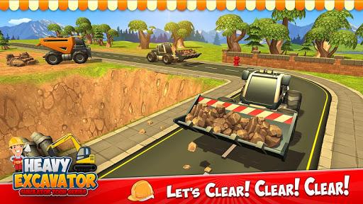 Grue d'excavatrice lourde Grue de construction  captures d'écran 2