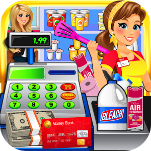 Dollar Store Cash Register Sim for PC and MAC