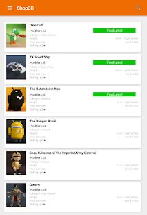 Shop 3D screenshot