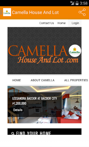 Camella House And Lot