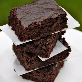 Real Healthy Zucchini Brownies.