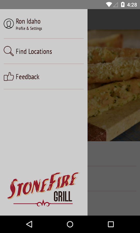 STONEFIRE Grill- screenshot