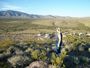 Photo: Karin the hiker