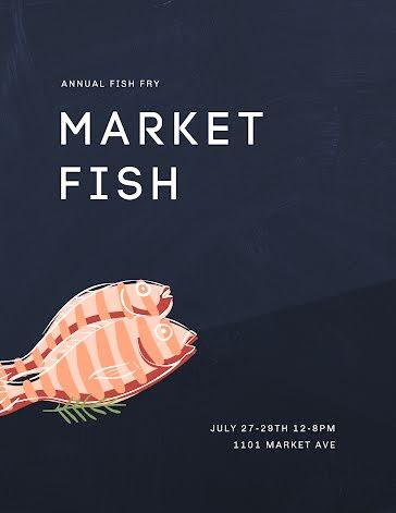Market Fish - Flyer Template