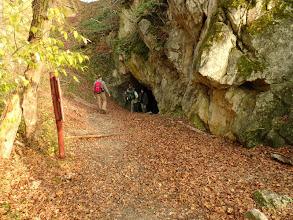 Photo: Az Odvas-kő barlangnál