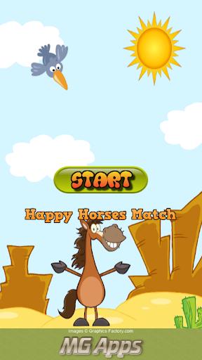 Happy Horses Match