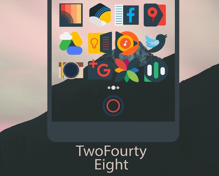 Mellow Dark – Icon Pack v2.2