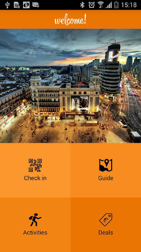 Welcome Madrid app