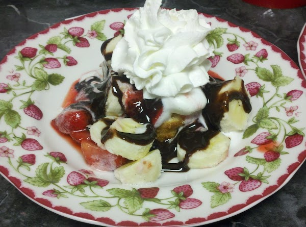 Drizzle with the chocolate syrup and top with whipped cream. Serve immediately.(If desired, you...